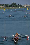 Zagreb, CROATIA.  2000 FISA World Rowing Junior & Non-Olympic Seniors Championships   [Mandatory Credit Peter Spurrier/Intersport Images]Zagreb, CROATIA. USA LM8+,  Bow, MILLER  Erik,  2. MACK David, 3. FEDYNA Bill  4. WINKLER Gabe, 5. CASHMAN , 6. SCHWARTZ , 7. MACLAURIN .Angus, stroke, WARNER Steve, cox, FIEN-HELFMAN .Joshua  2000 FISA World Rowing Junior & Non-Olympic Seniors Championships   [Mandatory Credit Peter Spurrier/Intersport Images]