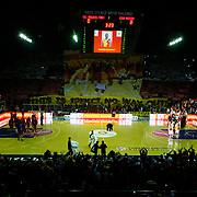 Galatasaray MP's and CSKA Moscow's during their Euroleague Top 16 basketball match Galatasaray MP between CSKA Moscow at the Abdi Ipekci Arena in Istanbul at Turkey on Thursday, February, 09, 2012. Photo by TURKPIX