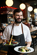 Dow0075165 . Sunday Telegraph<br /> <br /> ST Home & Living<br /> <br />  Chef Andrew Swan who co-runs The Crown pub in Hastings Old Town .<br /> <br /> Hastings 5 February 2017