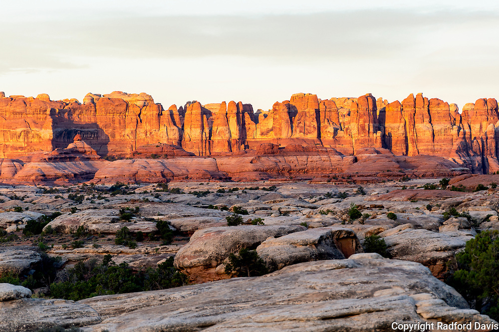 Canyonlands National Park, Utah. Needles District. Sunrise.
