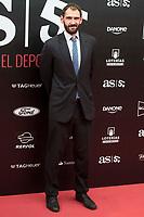Jorge Garbajosa attends to photocall of 50th anniversary sport newspaper As in Madrid, Spain. December 04, 2017. (ALTERPHOTOS/Borja B.Hojas)