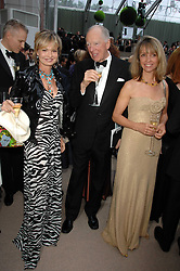 Left to right, COUNTESS MAYA VON SCHONBURG, LORD ROTHSCHILD and SABRINA GUINNESS at the Ark 2007 charity gala at Marlborough House, Pall Mall, London SW1 on 11th May 2007.<br /><br />NON EXCLUSIVE - WORLD RIGHTS