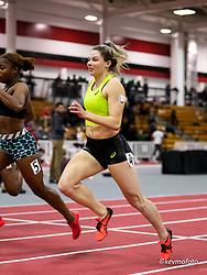 Harvard University<br /> Crimson Elite Indoor track & field meet<br /> asics, womens 60m , asics,