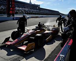 Sage Karam exits his pit two laps before his crash. Sage Karam injured in a crash on August 23rd, 2015, at Pocono Raceway in Long Pond. (Chris Post   lehighvalleylive.com)