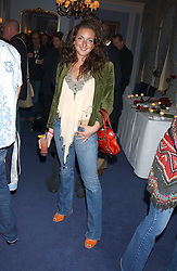 MISS NATASHA CORRETT daughter of interior designer Kelly Hoppen at a party to celebrate the launch of Dkkor Records at Kettners, Romilly Street, Soho, London on 31st March 2005.<br /><br />NON EXCLUSIVE - WORLD RIGHTS