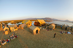 Uros Village On Floating Island