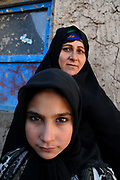 Huscha village, Herat province.  Ten year old Aziz Gul whose mother Sahatgul, has arranged her marriage in order to get some money for the family.