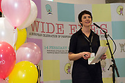 31/01/2018  Aislinn Ó hEocha Artistic Director Baboro at the launch of Wide Eyes, a unique one-off European arts extravaganza for babies and children aged 0 – 6. Hosted by Baboró, Wide Eyes will take place in Galway till Sun 4 February. This imaginative programme will feature 15 new theatre and dance shows from some of Europe's finest creators of Early Years work from Austria, Belgium, Denmark, Finland, France, Germany, Hungary, Italy, Poland, Romania, Slovenia, Spain, Sweden, UK and Ireland. For more see www.wideeyesgalway.ie<br /> <br /> Wide Eyes will welcome almost 200 artists and arts professionals from almost 20 countries to enthral and engage children over four jam-packed days. Photo:Andrew Downes, XPOSURE