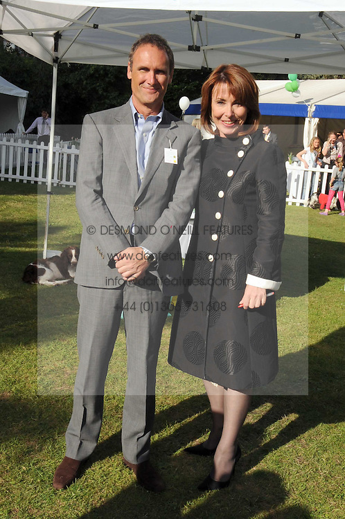 KAY BURLEY and ADRIAN GILL at the Macmillan Dog Day in aid of Macmillan Cancer Support held at the Royal Hospital Chelsea, London on 8th July 2008.<br /><br />NON EXCLUSIVE - WORLD RIGHTS