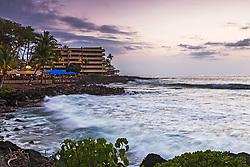 Kona Sunset on the Big Island of Hawaii.