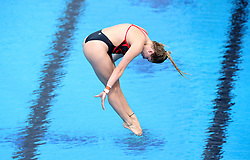 England's Katherine Torrance competes in the Women's 1m Springboard Preliminary at the Optus Aquatic Centre during day nine of the 2018 Commonwealth Games in the Gold Coast, Australia. PRESS ASSOCIATION Photo. Picture date: Friday April 13, 2018. See PA story COMMONWEALTH Diving. Photo credit should read: Danny Lawson/PA Wire. RESTRICTIONS: Editorial use only. No commercial use. No video emulation.
