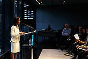 May 10, 2016- New York, NY: United States: Author Sarah Lewis, Guest Editor, Aperture Magazine attend the Aperture Magazine Launch for the Vision & Justice Issue held at the Ford Foundation on May 10, 2016 in New York City. Aperture, a not-for-profit foundation, connects the photo community and its audiences with the most inspiring work, the sharpest ideas, and with each other—in print, in person, and online. (Terrence Jennings/terrencejennngs.com)