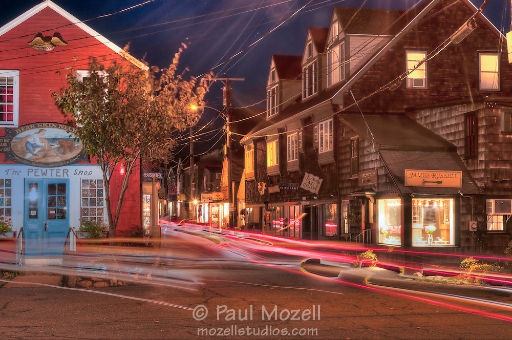Bearskin Neck in Rockport, MA is a mecca for tourists year-round.