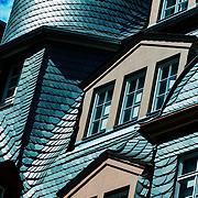 Frankfurt (Main) Hesse Germany. New Frankfurt Old Town