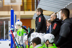 during Hockey match between Slovenia and Ukraine in IIHF U20 World Cup Division I, Group B, on December 9, 2017 in Dvorana Bled, Bled, Slovenia. Photo by Ziga Zupan / Sportida