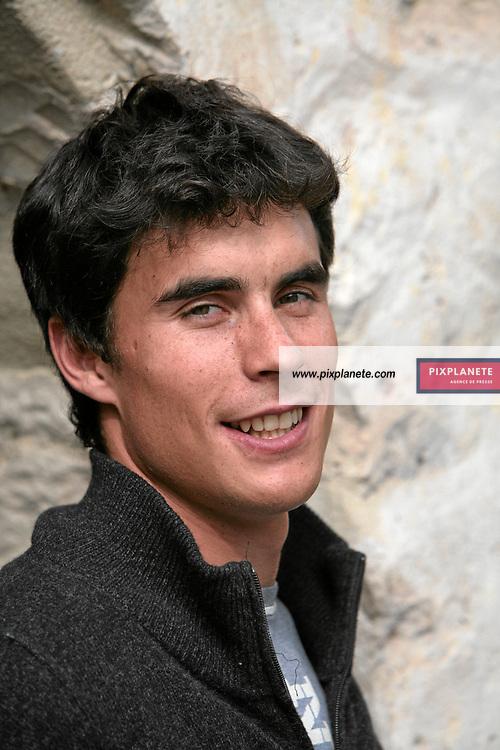 Johan Clarey - Ski Alpin - présentation de l'équipe de France de ski 2007-2008 - Photos exclusives - Paris, le 9/10/2007 - JSB / PixPlanete