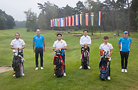 HILVERSUM -  Team ITALY.  ELTK Golf  2020 The Dutch Golf Federation (NGF), The European Golf Federation (EGA) and the Hilversumsche Golf Club will organize Team European Championships for men.  COPYRIGHT KOEN SUYK