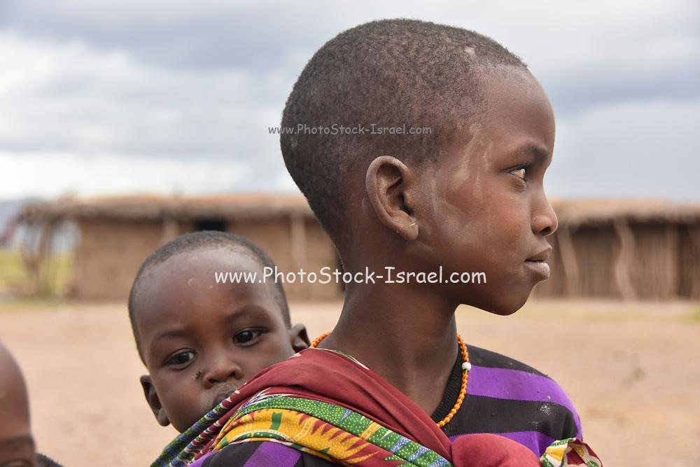 Portrait of a Datooga woman Photographed in Lake Eyasi Tanzania