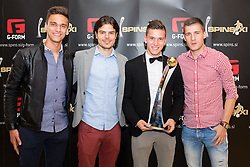 during SPINS XI Nogometna Gala event when presented best football players of Prva liga Telekom Slovenije, on May 13, 2015 in Hotel Union, Ljubljana, Slovenia. Photo by Matic Klansek Velej / Sportida