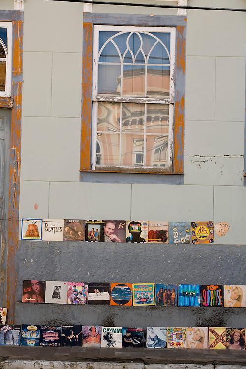 Oliveira_MG, Brasil...Comercio de vinil em Oliveira...The vinyl trade in Oliveira...Foto: LEO DRUMOND / NITRO