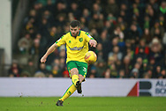 Norwich City's Grant Hanley during the EFL Sky Bet Championship match between Norwich City and Sheffield Utd at Carrow Road, Norwich, England on 20 January 2018. Photo by John Marsh.