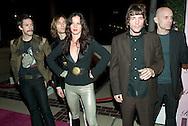 "Juliette Lewis and her band ""The Licks""..Launch of ""Paris Hilton"" fragrance..5900 Wilshire Blvd..LA, CA US.12/3/04."