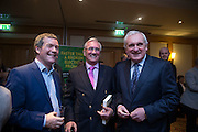 20/1/16  Former Minister Noel Dempsey with former Taoiseach Bertie Ahern at the launch of Noel Whelan's book, The Tallyman's Campaign Handbook at the Alexander Hotel in Dublin. Picture: Arthur Carron