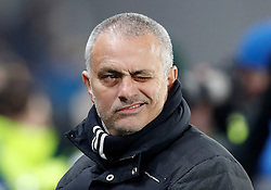 Manchester United manager Jose Mourinho before the EFL Cup Semi Final, Second Leg match at the KCOM Stadium, Hull.