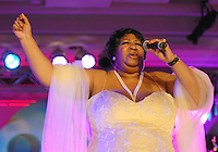 Aretha Franklin at the Radio One 25th Anniversary Celebration.