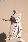 Statue Of Rigas Feraios (1757-1798) at the University of Athens, Athens, Greece