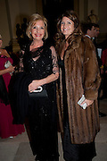 PENELOPE CARLIN; ALEXA JAGO, Charity Dinner in aid of Caring for Courage The Royal Scots Dragoon Guards Afganistan Welfare Appeal. In the presence of the Duke of Kent. The Royal Hospital, Chaelsea. London. 20 October 2011. <br /> <br />  , -DO NOT ARCHIVE-© Copyright Photograph by Dafydd Jones. 248 Clapham Rd. London SW9 0PZ. Tel 0207 820 0771. www.dafjones.com.