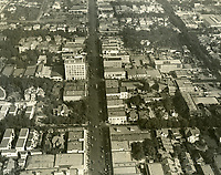 1923 Looking east on Hollywood Blvd. at Cahuenga Ave.