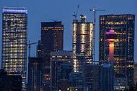 Downtown Calgary from Roxboro Park, Morning