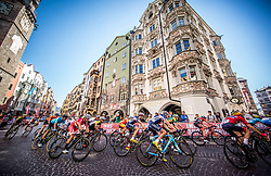KLARIS Magnus Bak of Denmark, LAFAY Victor and PARET PEINTRE Aurelien of France during the Men Under 23 Road Race 179.9km Race from Kufstein to Innsbruck 582m at the 91st UCI Road World Championships 2018 / RR / RWC / on September 28, 2018 in Innsbruck, Austria.  Photo by Vid Ponikvar / Sportida