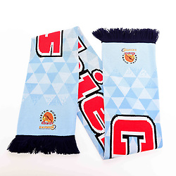 Checkered Scarf - Ryan Hiscott/JMP - 30/07/2019 - SPORT - Sandy Park - Exeter, England - Exeter Chiefs Club Shop Merchandise