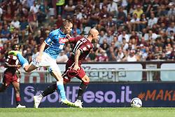 September 23, 2018 - Turin, Italy - Torino forward Simone Zaza (11) in action during the Serie A football match n.5 TORINO - NAPOLI on 23/09/2018 at the Stadio Olimpico Grande Torino in Turin, Italy. (Credit Image: © Matteo Bottanelli/NurPhoto/ZUMA Press)