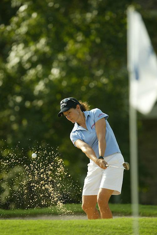 Rachel Teske.2003 Samsung World Championship.3rd Round.TPC at the Woodlands.The Woodlands, TX.Saturday, October 11 2003..photograph by Darren Carroll