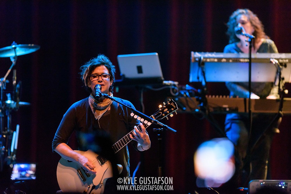 SILVER SPRING, MD - April 27th, 2017 - Wendy Melvoin and Lisa Coleman of The Revolution perform at the Fillmore Silver Ring in Silver Spring, MD. The Revolution played on most of Prince's biggest hits and have returned to the road in the wake of his 2016 death. (Photo by Kyle Gustafson / For The Washington Post)