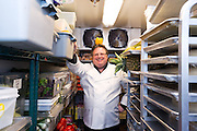 Chef David Burke, photographed at the James Hotel