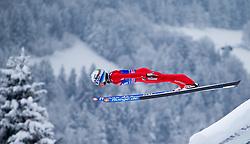 31.12.2014, Olympiaschanze, Garmisch Partenkirchen, GER, FIS Ski Sprung Weltcup, 63. Vierschanzentournee, Training, im Bild Anders Fannemel (NOR) // during Trial Jump of 63rd Four Hills Tournament of FIS Ski Jumping World Cup at the Olympiaschanze, Garmisch Partenkirchen, Germany on 2014/12/31. EXPA Pictures © 2014, PhotoCredit: EXPA/ JFK