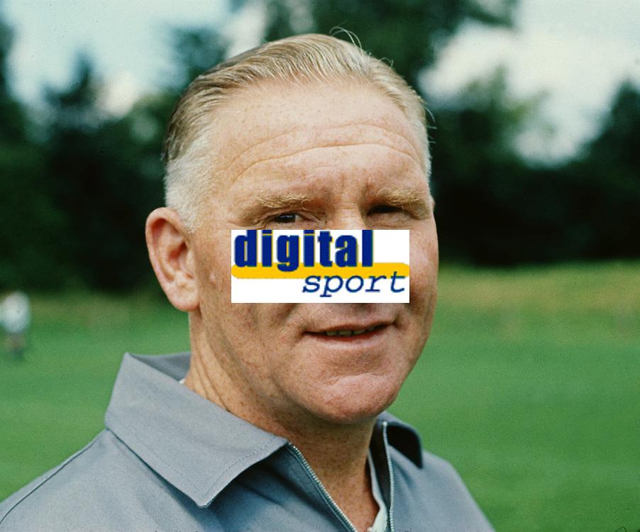 Bill Nicholson (Tottenham Manager 1969). Football 1969. <br />  Credit: COLORSPORT/Digitalsport