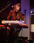 ARLINGTON, VA - April 7th, 2012 -  Fan Modine perform at Artisphere in Arlington, VA as part of Chickfactor Magazine's 20th anniversary weekend. (Photo by Kyle Gustafson)