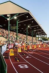 womens 200 meters, start,