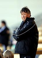 LILLESTRØM 2005 APRIL 3. PRIVATKAMP ÅRÅSEN STADION<br /> LILLESTRØM v TROMSØ<br /> TROMSØTRENER OTTO ULSETH<br /> FOTO PEDERSEN KURT