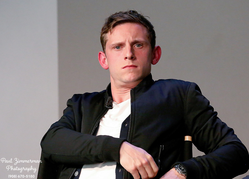 NEW YORK, NY - APRIL 06:  Jamie Bell speaks at Apple Store Soho Presents Meet the Cast: 'AMC's TURN: Washington Spies' at Apple Store Soho on April 6, 2015 in New York City.  (Photo by Paul Zimmerman/WireImage)