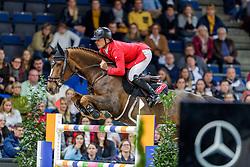 Schwizer Pius, SUI, Cortney Cox<br /> Stuttgart - German Masters 2019<br /> © Hippo Foto - Stefan Lafrentz<br /> 17/11/2019