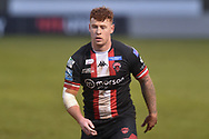 Harvey Livett (20) of Salford Red Devils during the game