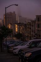 Mason Street, Morning Fog