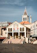 Latin Patriarchate Church of Saint John the Apostle, Yafia, Nazareth, (Yafa an-Naseriyye) Galilee, Israel,