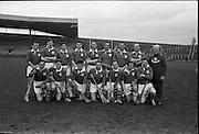 Railway Cup Final Replay, Leinster v Munster, at Croke Park. .Munster Team.14.04.1963